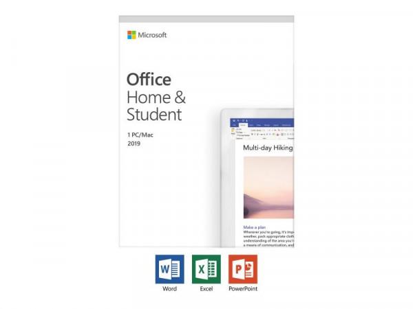 Office 2019 Home & Student 32-bit/x64 Deutsch PKC P6