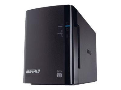 Buffalo DriveStation Duo USB 3.0 - Festplatten-Array - 6 TB - 2 Schächte (SATA-300)
