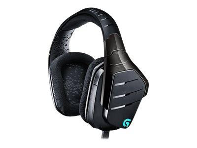 Logitech USB Gaming-Headset G633 black/blue retail