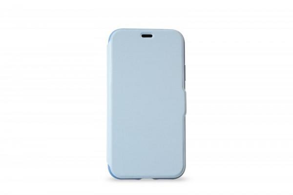 KMP Schutzhülle Apple für iPhone X Bookcase niagara blue