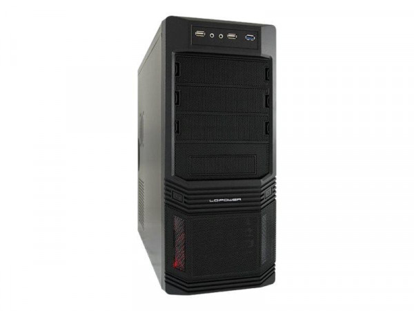 LC Power Pro-Line PRO-925B - Midi Tower - ATX 600 Watt (ATX12V 2.31)