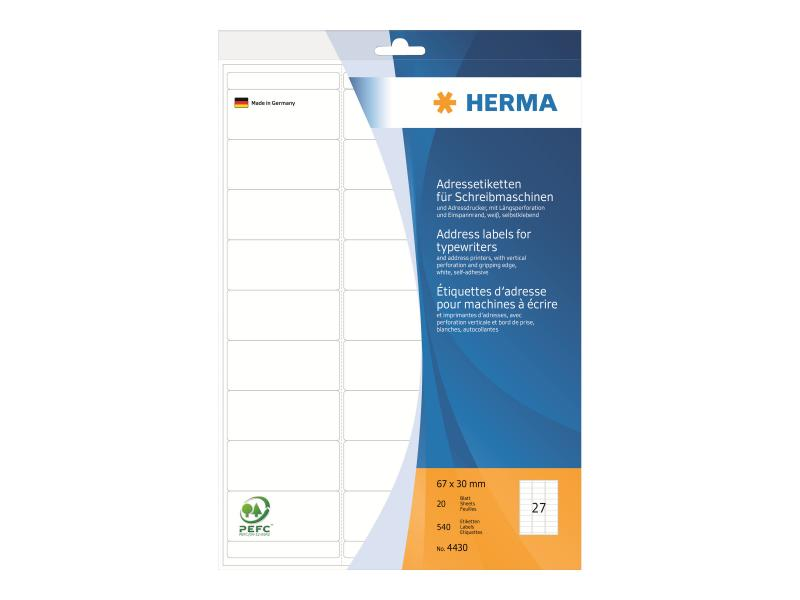 Vielzwecketiketten weiß Ø 13 mm rund Papier matt 2464 St.