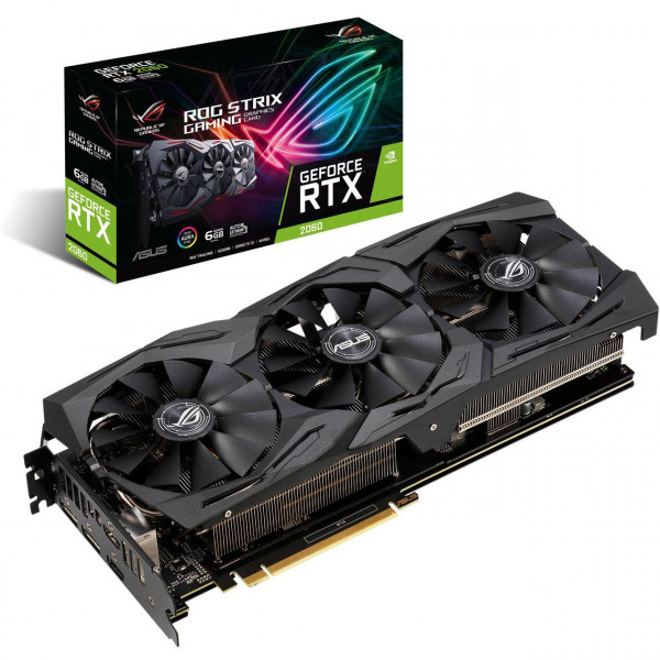 ASUS ROG-STRIX-RTX2060-6G-GAMING (6GB,HDMI,DP,Active)