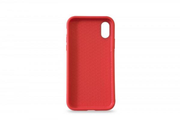 KMP Schutzhülle Apple für iPhone X Sporty Case red