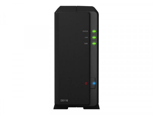NAS Synology DS118 4x1,4GHz/1GB 1xGbLan/2xUSB3.0