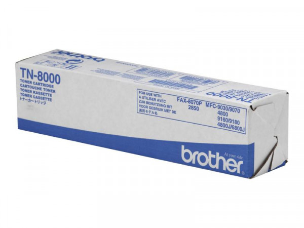 Brother TN8000 - Schwarz - Original - Tonerpatrone