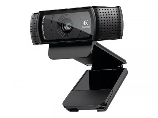 Logitech HD-Webcam C920 black retail