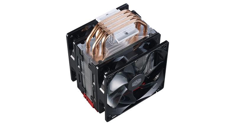 Cooler Master Hyper 212 LED Turbo - Prozessorkühler - (LGA775 Socket,  LGA1156 Socket, Socket AM2+, S