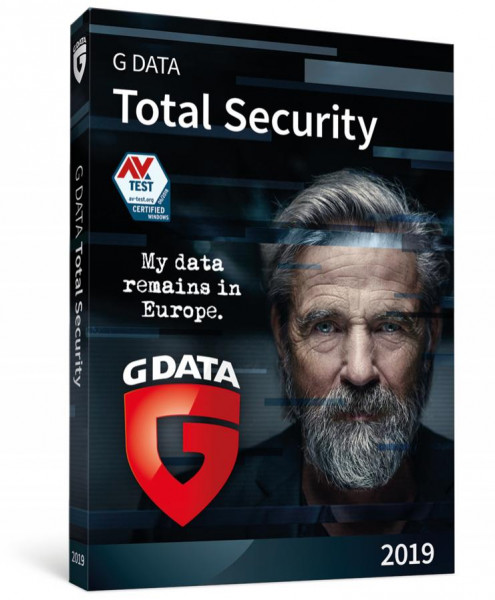 G Data Total Security 2019 3PC