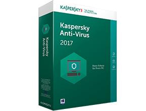 Kaspersky Anti-Virus 2017 Upgrade (Code in a Box) Mini-Bo