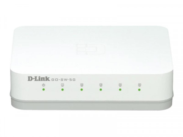 Switch D-Link GO-SW-5G/E Home Switch 5*GE retail