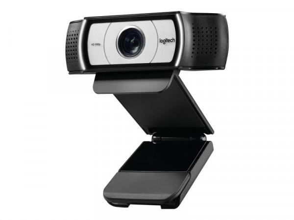 Logitech Webcam C930e HD-WebCam black
