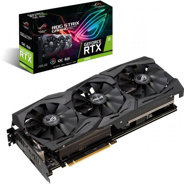 ASUS ROG-STRIX-RTX2060-O6G GAMING (6GB,HDMI,DP,Active)