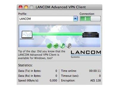 LANCOM Advanced VPN Client (WIN, 1 Licence) retail