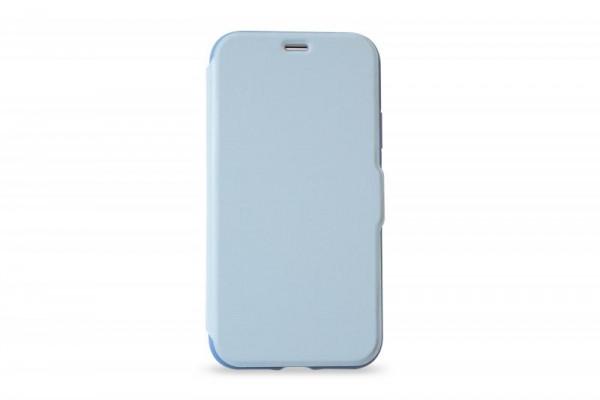 KMP Schutzhülle Apple für iPhone 8+ Bookcase niagara blue