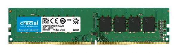 DDR4 8GB PC 2400 CL17 Crucial Single Rank retail
