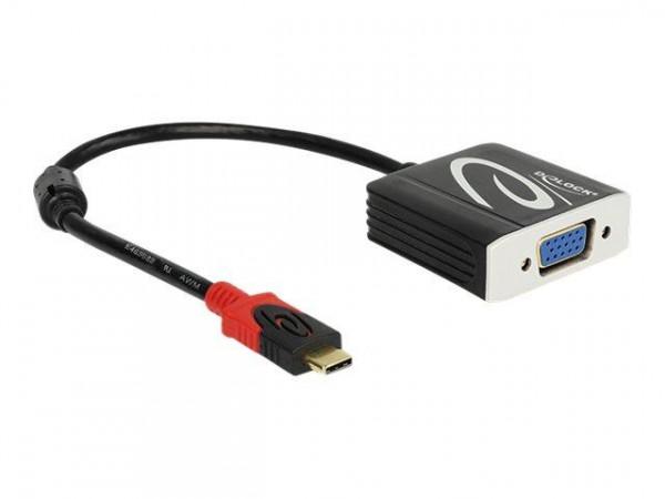 DELOCK Adapter USB/C -> VGA St/Bu (DP Alt Mode)