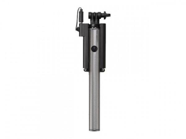 Selfie-Stick Ultron cable mini Hot Shot silver