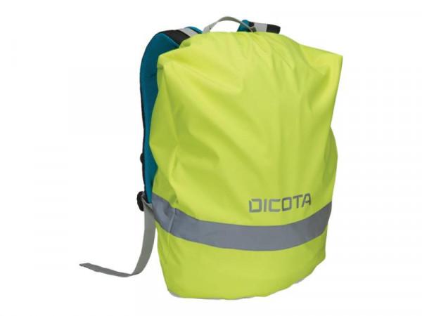 Dicota Backpack Rain Cover Universal green für Rucksäcke