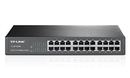 Switch TP-Link 24x FE TL-SF1024D Ver2.0