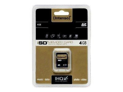 Intenso Flash-Speicherkarte - 4 GB - SDHC