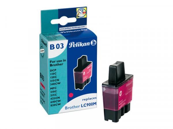 Pelikan B03 - 14 ml - Magenta - Tintenpatrone (Alternative zu: Brother LC900M)