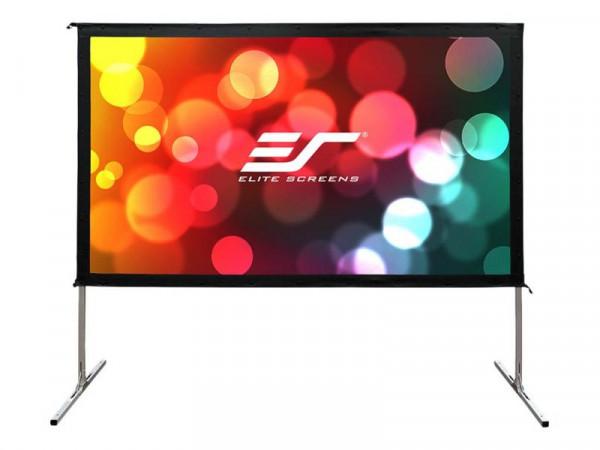 Elite Screens Outdoor 16:9 299*168cm Yard Master2 Dual silb.