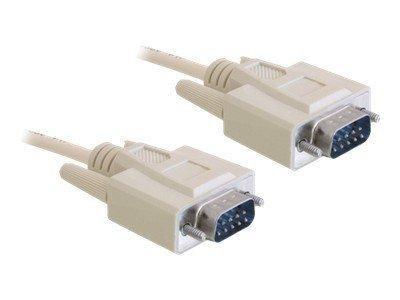 Seriell Kabel Delock D-Sub9 -> D-Sub9 RS-232 St/St 3.00m