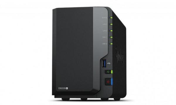 Synology NAS DS220+ 2.0GHZ/2GB RAM 2-bay