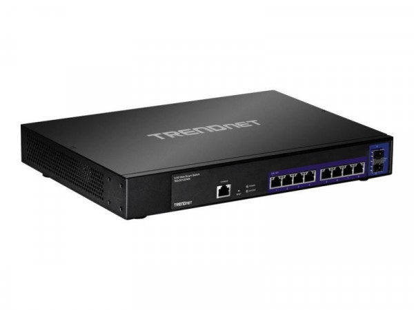 TRENDnet Switch 10-port 2.5Gbit WebSmart 10G SFP+ Slots