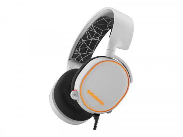 Headset SteelSeries Arctis 5 2019 Edition RGB white