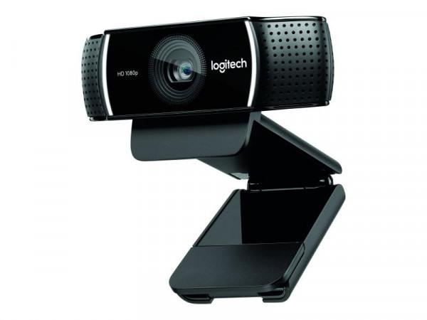 Logitech HD-Webcam C922 black retail