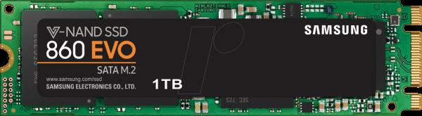 SSD 1TB Samsung M.2 SATA (2280) 860 EVO Basic