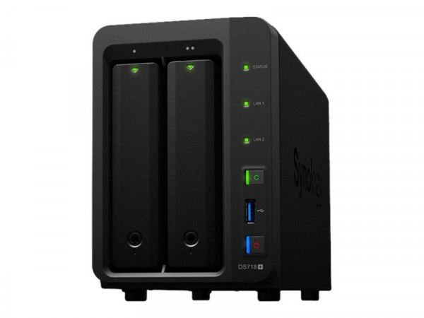 NAS Synology DS718+ 4x1,5GHz/2GB 2xGbLan/3xUSB3.0/eSATA