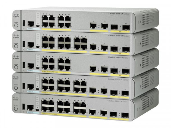 Cisco Switch 12x Catalyst WS-C3560CX-12TC-S