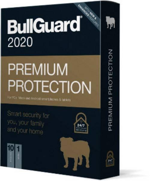 BullGuard Premium Protection 2020 1Y/5 Geräte Retail