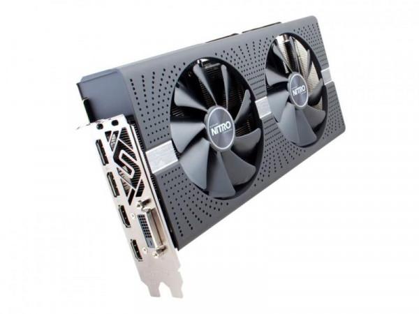 Sapphire RX 580 Nitro+ 4096MB,PCI-E,DVI,2xHDMI,2xDP