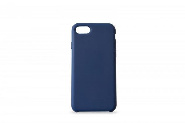 KMP Schutzhülle Apple für iPhone 8+ Silikon Case blue