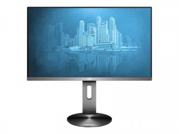 "AOC 60,5cm (23,8"")I2490PXQU/BT 16:09 HDMI+VGA+DP IPS black"