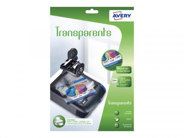 PAP Avery Zweckform Overhead-Transparentfolien 10St.