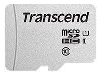 SD microSD Card 64GB Transcend SDHC USD300S-A w/Adapter