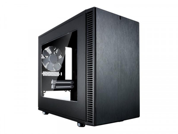 Gehäuse FRACTAL DESIGN DEFINE Nano S Black Window