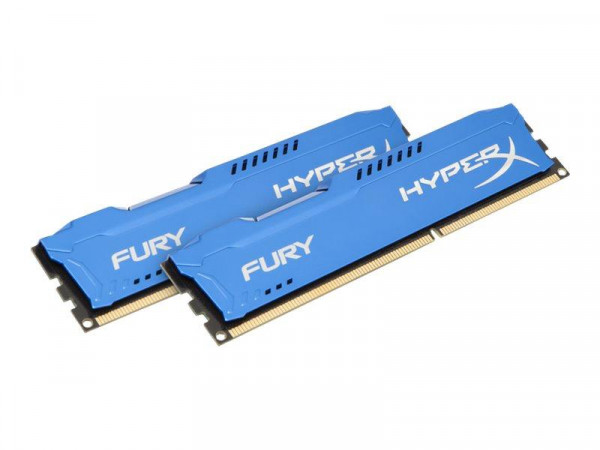 DDR3 8GB PC 1600 CL10 Kingston KIT (2x4GB) HyperX Fury