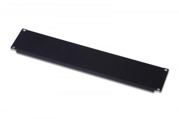 DIGITUS Abdeckplatte 2HE Blindabdeckung 483mm schwarz