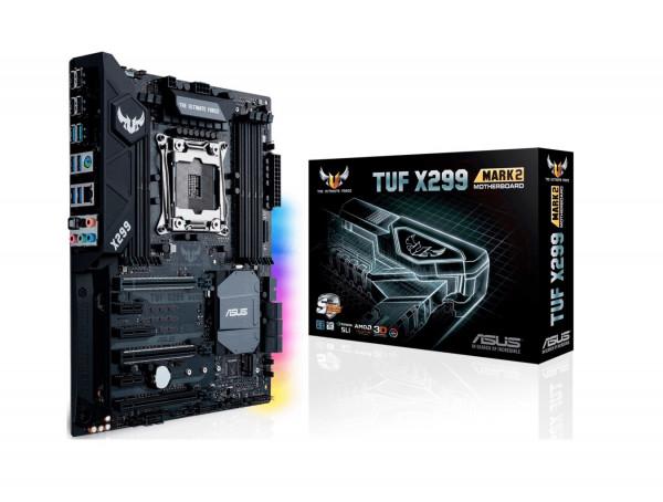 ASUS TUF X299 MARK 2 - Motherboard - ATX - LGA2066 Socket - X299 - USB 3.1 Gen 1, USB 3.1 Gen 2 - Gi